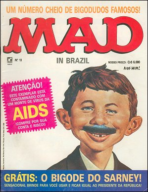 MAD Magazine #13 • Brasil • 2nd Edition - Record