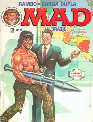MAD Magazine #14 • Brasil • 2nd Edition - Record