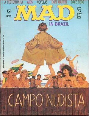 MAD Magazine #15 • Brasil • 2nd Edition - Record