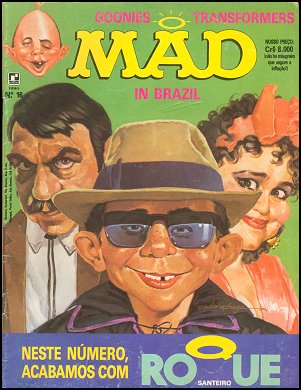 MAD Magazine #16 • Brasil • 2nd Edition - Record