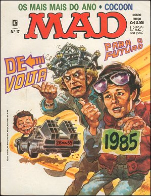 MAD Magazine #17 • Brasil • 2nd Edition - Record
