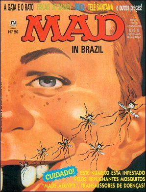 MAD Magazine #20 • Brasil • 2nd Edition - Record