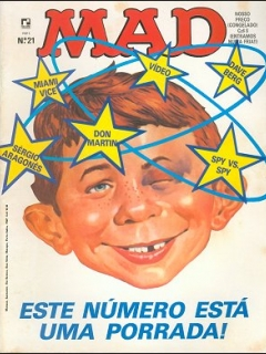 MAD Magazine #21 • Brasil • 2nd Edition - Record