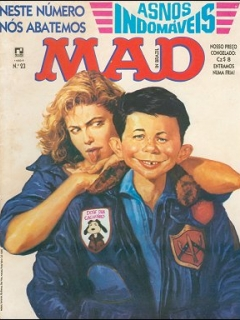 Go to MAD Magazine #23 • Brasil • 2nd Edition - Record