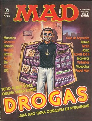 MAD Magazine #25 • Brasil • 2nd Edition - Record