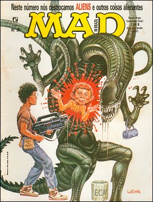 MAD Magazine #26 • Brasil • 2nd Edition - Record
