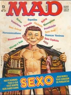 MAD Magazine #27 • Brasil • 2nd Edition - Record