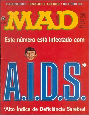 MAD Magazine #29 • Brasil • 2nd Edition - Record