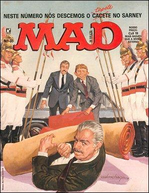 MAD Magazine #30 • Brasil • 2nd Edition - Record