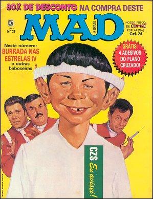 MAD Magazine #31 • Brasil • 2nd Edition - Record