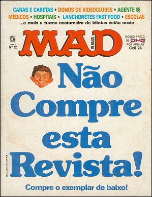 MAD Magazine #32 • Brasil • 2nd Edition - Record