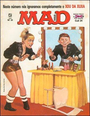 MAD Magazine #33 • Brasil • 2nd Edition - Record