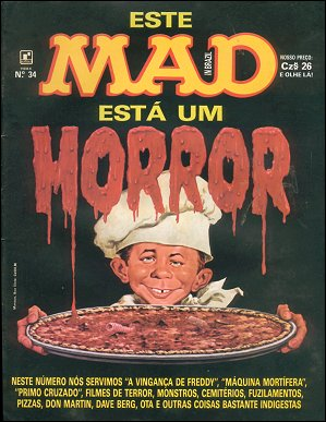 MAD Magazine #34 • Brasil • 2nd Edition - Record