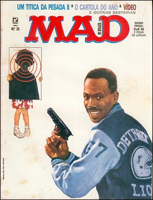 MAD Magazine #35 • Brasil • 2nd Edition - Record