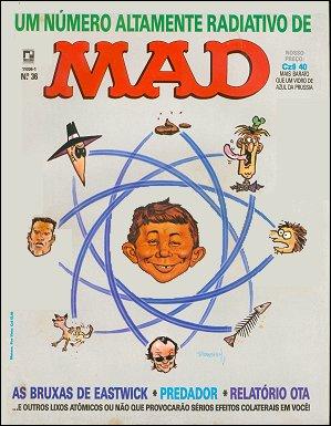MAD Magazine #36 • Brasil • 2nd Edition - Record