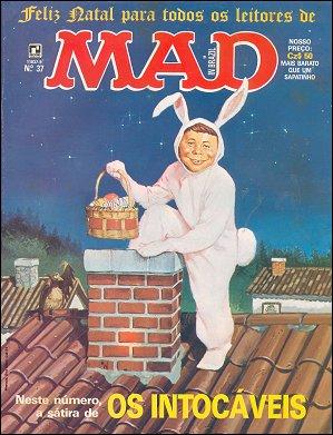 MAD Magazine #37 • Brasil • 2nd Edition - Record
