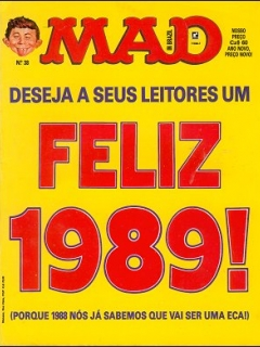MAD Magazine #38 • Brasil • 2nd Edition - Record