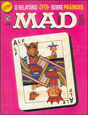 MAD Magazine #39 • Brasil • 2nd Edition - Record