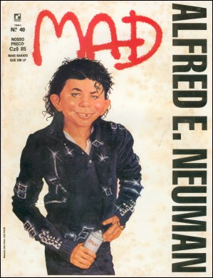MAD Magazine #40 • Brasil • 2nd Edition - Record