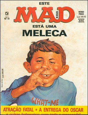 MAD Magazine #41 • Brasil • 2nd Edition - Record