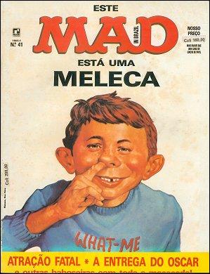 MAD Magazine #41 • Brasil • 2nd Edition - Record
