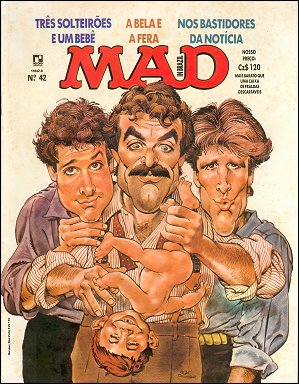 MAD Magazine #42 • Brasil • 2nd Edition - Record