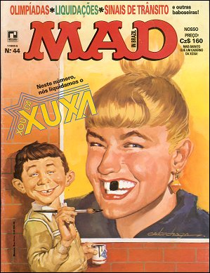 MAD Magazine #44 • Brasil • 2nd Edition - Record