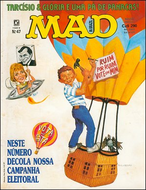 MAD Magazine #47 • Brasil • 2nd Edition - Record