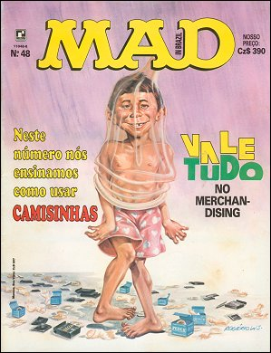 MAD Magazine #48 • Brasil • 2nd Edition - Record