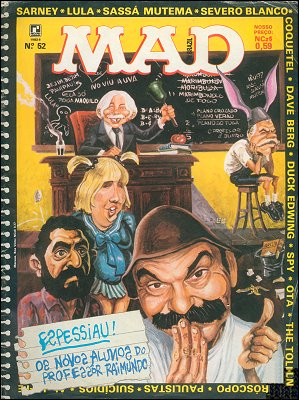 MAD Magazine #52 • Brasil • 2nd Edition - Record