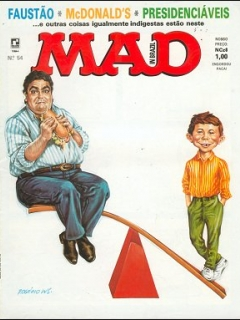 MAD Magazine #54 • Brasil • 2nd Edition - Record