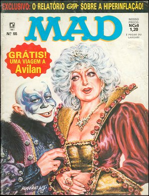 MAD Magazine #55 • Brasil • 2nd Edition - Record