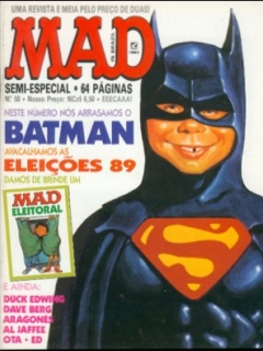 MAD Magazine #58 • Brasil • 2nd Edition - Record