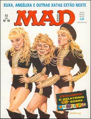 MAD Magazine #59 • Brasil • 2nd Edition - Record