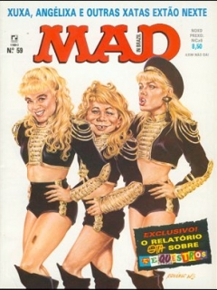MAD Magazine #59 • Brasil • 2nd Edition - Record