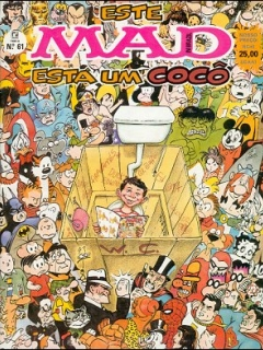MAD Magazine #61 • Brasil • 2nd Edition - Record