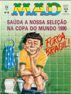 MAD Magazine #63 • Brasil • 2nd Edition - Record