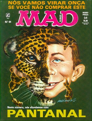 MAD Magazine #64 • Brasil • 2nd Edition - Record