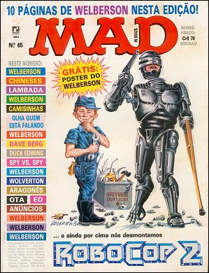 MAD Magazine #65 • Brasil • 2nd Edition - Record