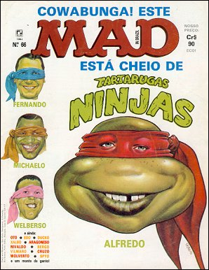 MAD Magazine #66 • Brasil • 2nd Edition - Record