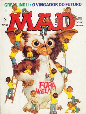MAD Magazine #67 • Brasil • 2nd Edition - Record