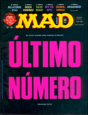 MAD Magazine #68 • Brasil • 2nd Edition - Record