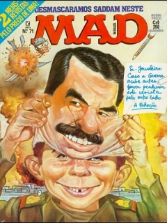 MAD Magazine #71 • Brasil • 2nd Edition - Record