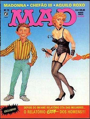 MAD Magazine #73 • Brasil • 2nd Edition - Record