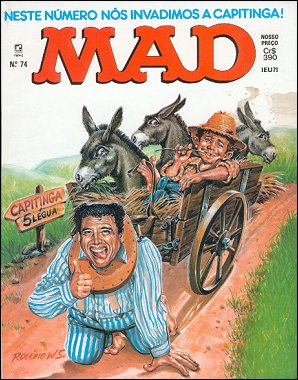 MAD Magazine #74 • Brasil • 2nd Edition - Record