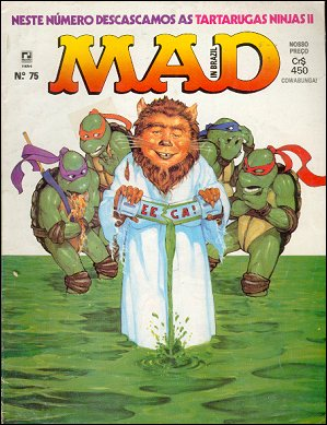 MAD Magazine #75 • Brasil • 2nd Edition - Record