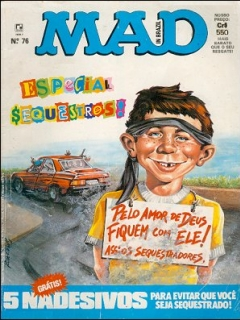 MAD Magazine #76 • Brasil • 2nd Edition - Record
