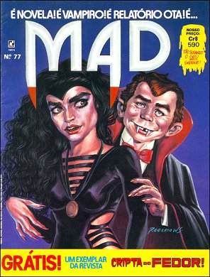 MAD Magazine #77 • Brasil • 2nd Edition - Record
