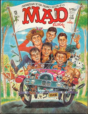 MAD Magazine #80 • Brasil • 2nd Edition - Record