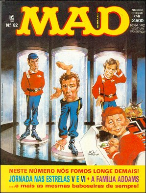 MAD Magazine #82 • Brasil • 2nd Edition - Record